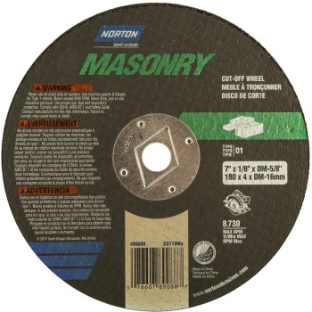 Masonry Cut Off Blade 7x1/8x5/8