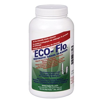 Eco-Flo Enzymatic Drain Cleaner ~ 1 lb Container