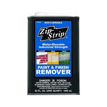 Absolute Coatings 273004 Paint Remover, Industrial Strength ~ One Quart
