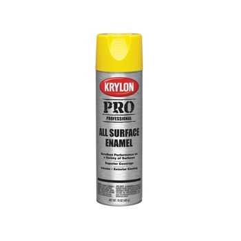 Enamel Spray Paint - Gloss Yellow