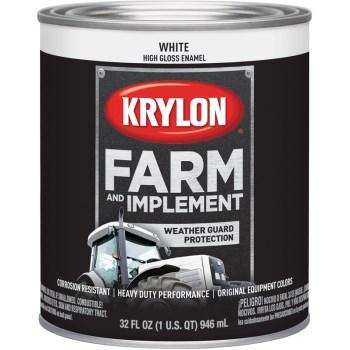 Krylon K02021000 2021 Qt Gloss White Paint