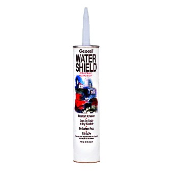 Water Shield® Caulking Sealant, White ~ 10 oz