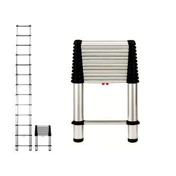 Telescoping Ladder, 250 LB Rating ~ 16'