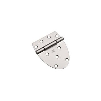 Satin Hvy Gate Hinge