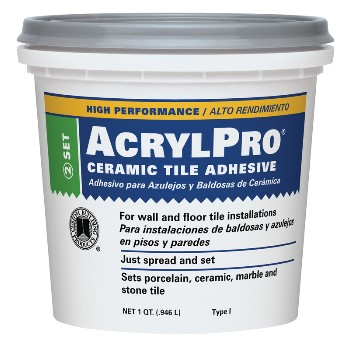 Custom Building Prod. ARL40001 Ceramic Tile Mastic, 1 Gallon