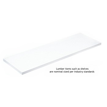 1980wh 10x24 White Kv Shelf