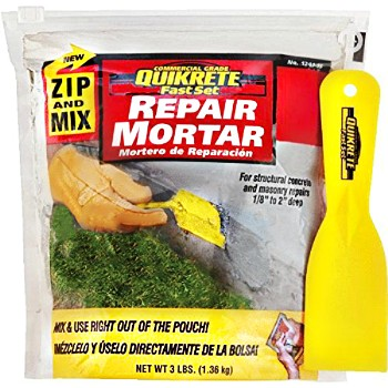Zip & Mix FastSet Repair Mortar Mix ~ 3 lbs