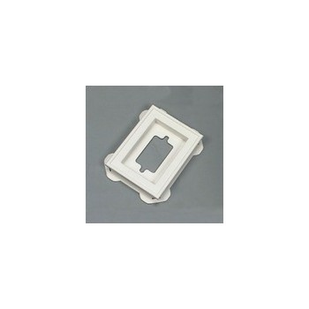Builders Edge  Mounting Block - White - Mini