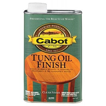 Cabot  Tung Oil Finish - One Quart