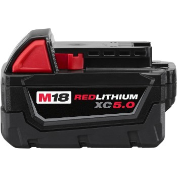 Red Lithium Battery Pack ~ 18 Volt - 5.0 AH
