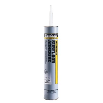 Titebond 5492 Titebond All Weather Subfloor Adhesive, 29 oz Cartridge