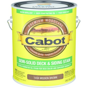 Decking & Siding Stain,  Mission Brown ~ Gallon