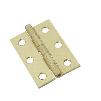 Loose Pin Hinges, Brass Finish ~ 2.5 inches