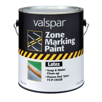 Valspar/McCloskey 24-0000138-07 Red Latex Traffic, 24-138, 1 Gal.
