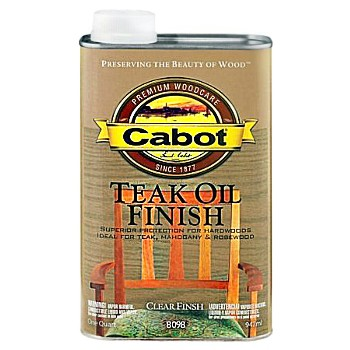 Teak Oil Finish  ~ Quart