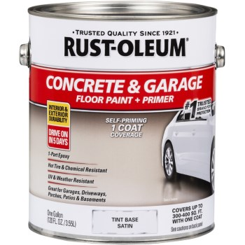 Rust-Oleum 225381 EpoxyShield Concrete Floor Tint Base, Gallon