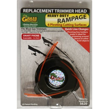 Cmd Prods 5620 Rampage 6 Cutting Head ~ .095""