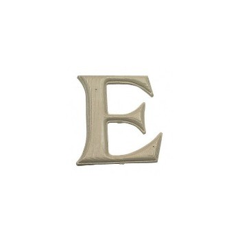 House Letter E,  Simulated Wood-Grain Letter ~ 7""