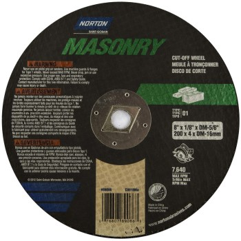 8 Masonry Cutting Wheel