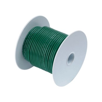 General Purpose 14 Guage Primary Wire, Green ~ 100 Ft Roll