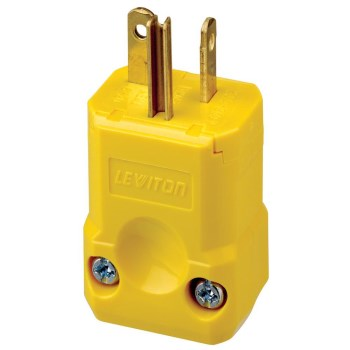Leviton 081-5456-VY Python Male Plug ~ 20A