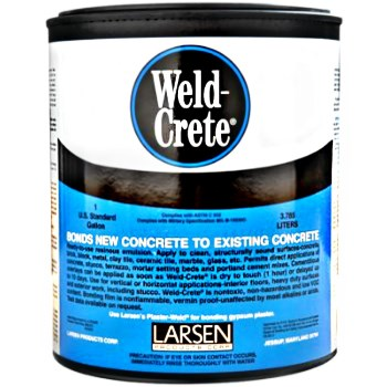 Weld-Crete Concrete Bonding Agent ~ Gallon