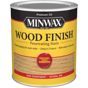 Wood Finish ~ Natural,  Quart