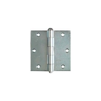 Zinc Loose Pin Broad Hinges, Visual Pack 504 3 - 1/2 inches