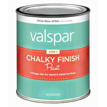 Chalky Finish Paint Deep Base ~ Qt.