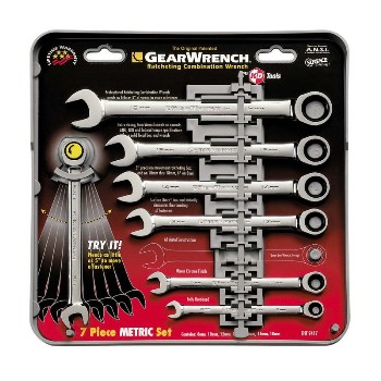 7pc Met Ratchet Wrnch Set