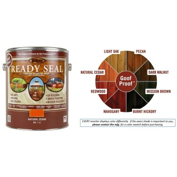 Buy The Ready Seal 112 Ready Seal Stain And Sealer Natural Cedar Gallon Hardware World