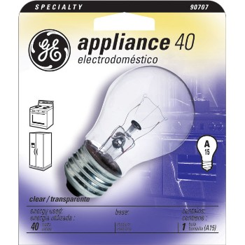 Appliance Bulb, 40 watt