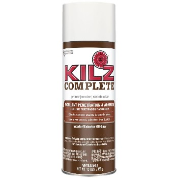Kilz Complete Spray Primer, White ~ 13 oz
