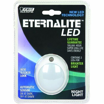 Feit Elec. NL4/LED Night Light,  3 LED Round Eternalite