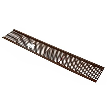 Amerimax   85379 Snap-In Gutter Guard, Brown ~ 3 Ft