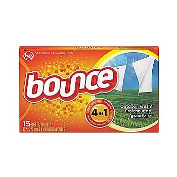 15pk Bounce Dryer Sheet