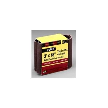 3M 051131663312 Sanding Belt - Fine - 3 x 18 inch