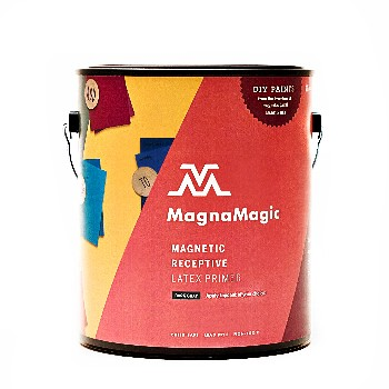 MagnaMagic GGAW710 Magnetic Receptive Primer, Dark Gray  ~ Gallon