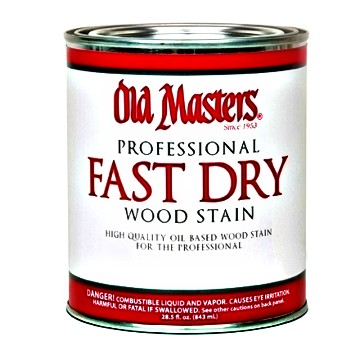 Fast Dry Wood Stain,  Dark Mahogany ~ Gallon