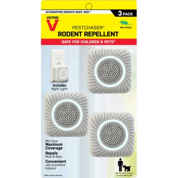 Victor® PestChaser® Rodent Repellent w/Nightlight