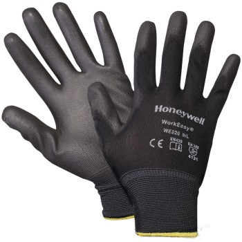 Black Ployester Gloves