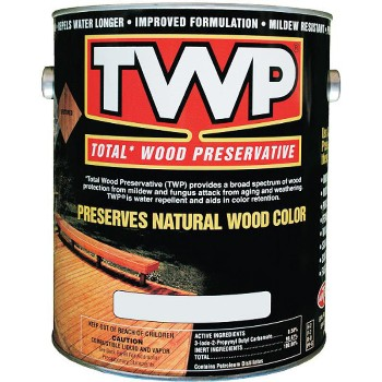 Total Wood Preservative,  Cape Cod Gray  ~  Gallon
