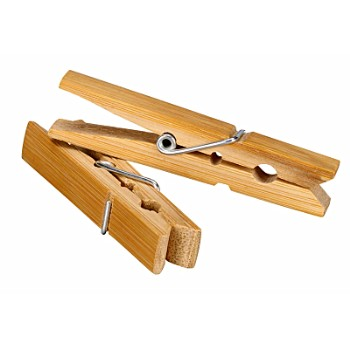 Honey-Can-Do Int. DRY-01374 Clothespins, Wood 24 Pack