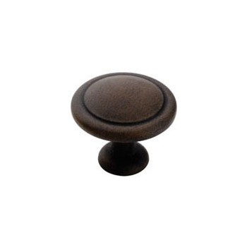 Knob - Antique Rust Finish - 1.25 inch