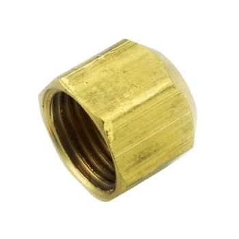 "Anderson Metals 54840-06 Brass Flare Cap  ~ 3/8"""