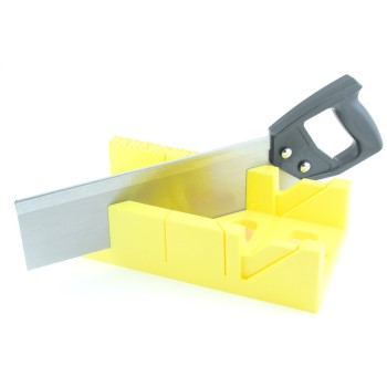 Mitre Box With Saw, 12 inch