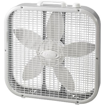 Lasko 3733 Box Fan, 3 Speed ~ 20""