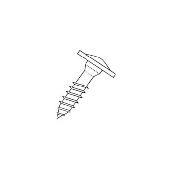 Cabinet Screw, Stainless Steel 8 x 1-1/4 inch 600 Count