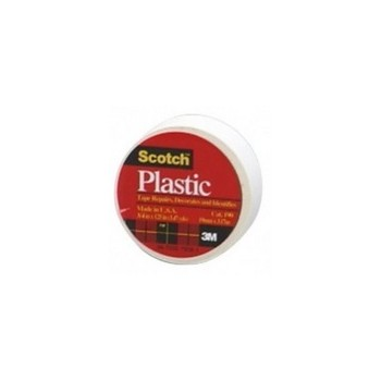 3M 190A Scotch White Plastic Tape