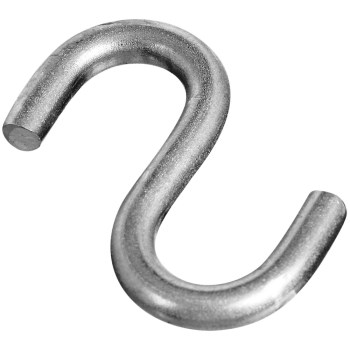 Stainless Steel Open S-Hook ~ 1 1/2""
